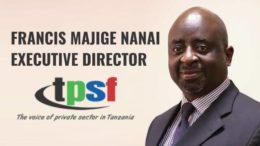 Francis Majige Nanai TPSF Tanzania