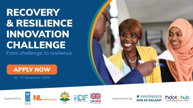 Recovery Resilience Innovation Challenge Tanzania