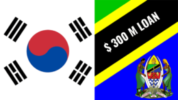 South Korea Tanzania EDCF USD 300 Million Loan