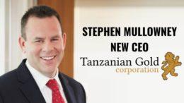 Stephen Mullowney Tanzania Gold Corporation