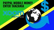 Tanzania mobile money xoom paypal