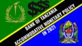 Bank of Tanzania Monetary Policy 2021