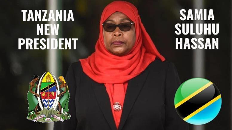 Samia Suluhu Hassan Tanzania New President