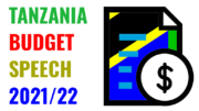 TANZANIA BUDGET SPEECH 2021-2022