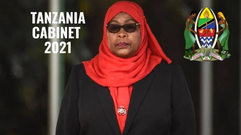Tanzania Cabinet by President Samia Suluhu