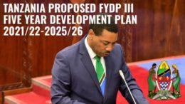 Tanzania Proposed Development Plan 2021/22-2025/26