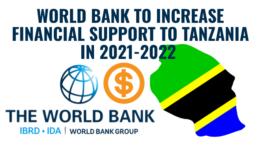 World Bank Tanzania Financial Support 2021-2022