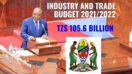 Kitila Mkumbo Tanzania Industry Trade Budget 2021-2022