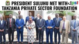 Tanzania Private Sector Foundation with President Suluhu