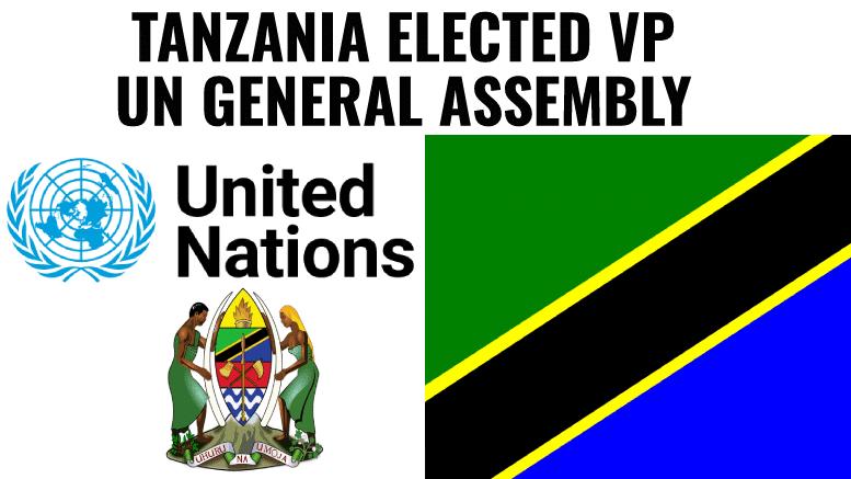 Tanzania UNGA Vice President 2021