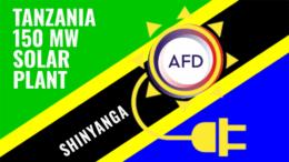 Tanzania Shinyanga solar power plant