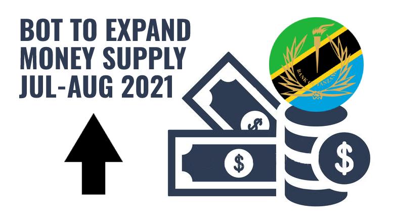 Bank of Tanzania Money Supply July August 2021