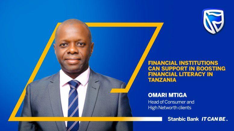 Omari Mtiga Stanbic Tanzania financial literacy