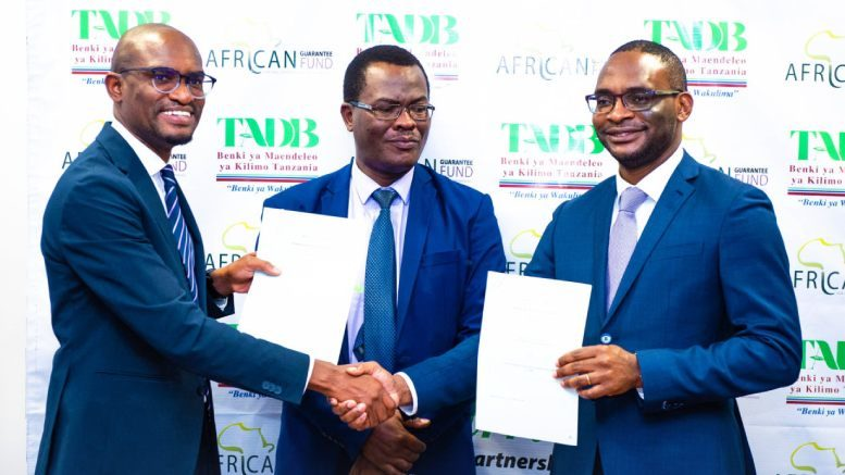 Tanzania AFDB TADB MOU 2021