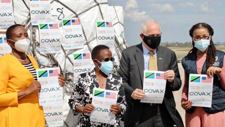 Tanzania Covax Johnson COVID-19 vaccine