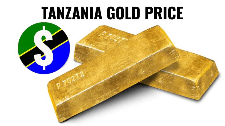 Tanzania gold ounce price