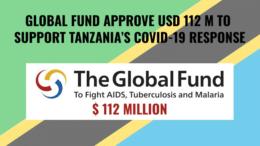 Tanzania Global Fund Covid support