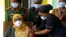 Tanzania President Samia Vaccination Campaign