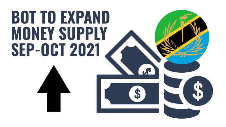 Tanzania Money Supply September-October 2021